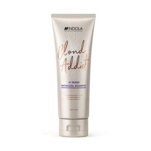Оттеночный шампунь Indola Blond Addict InstaCool Shampoo фото
