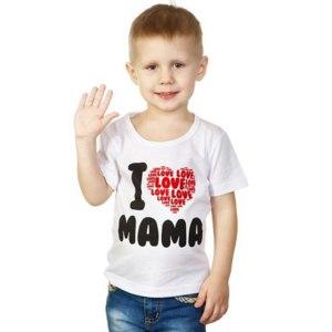 Футболка Mum's Era I love Mama арт.8355 фото