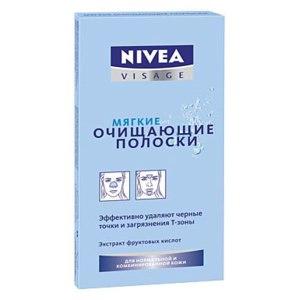 Очищающие полоски для Т-зоны NIVEA Мягкие фото