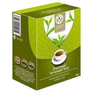 Чай  Черный жемчуг Элитный зеленый чай фото