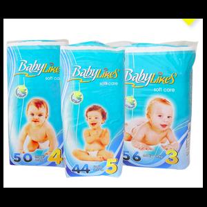 Подгузники Baby Likes (Чехия)  фото