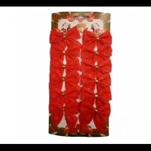Новогоднее украшение Бант из 12 шт. Феникс-Презент Артикул 76235 фото