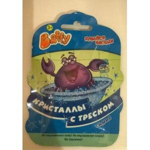 Шипучка для ванны Baffy Кристаллы с треском фото
