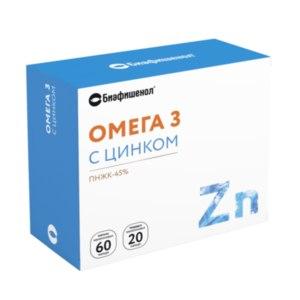 БАД Биафишенол Омега-3 с цинком фото
