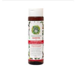 Шампунь Дары Природы Бессульфатный травяной #3 укрепляющий корни и улучшающий рост волос фото