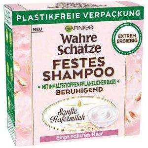 Твердый шампунь Garnier Ultimate Blends Delicate Oat Softening Shampoo Bar for Sensitive Scalp and Fragile Hair (Botanic Therapy успокаивающий с овсяным молоком) фото