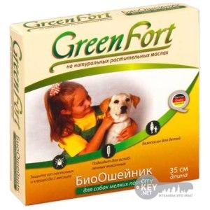 Ошейник против блох и клещей  Green Fort  фото