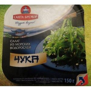 Салат из морских водорослей Санта Бремор Чука фото