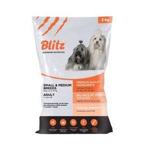 Корм для собак средних и мелких пород Blitz фото
