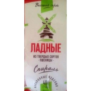 Макаронные изделия Поспелихинская макаронная фабрика Ладные Спираль  фото