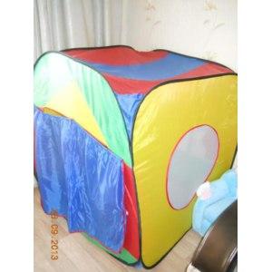 Игровой домик куб фото
