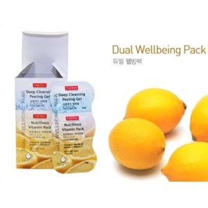 Маска для лица Purederm Deep Cleansing Peel Off Mask пилинг гель+ питательная с витаминами фото