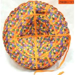 Тюбинг-ватрушка (надувные сани) Pro Tubing Премиум Цветная карамель фото