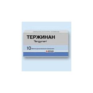 Противомикробные средства Тержинан фото