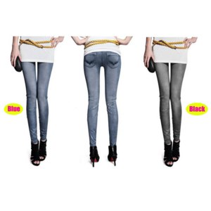 Джеггинсы (Джинсы-Леггинсы) AliExpress 2014 New Women Thin Ladies wild snow Denim jeans Leggings pencil pants nine Leggings antnmn winter warm фото