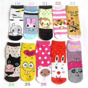 Носки детские Aliexpress  fashion cartoon socks фото
