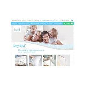 Сайт Drybed.ru, Хлопковое непромокаемое постельное белье фото