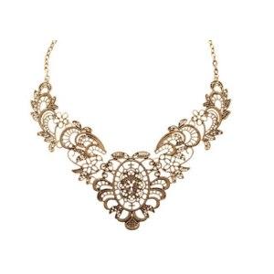 Колье Aliexpress Fashion luxurious collar (Bronze) фото