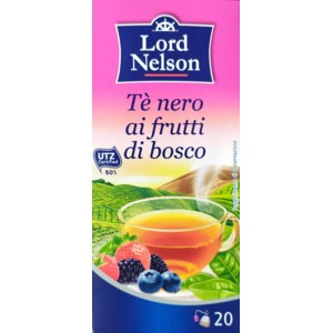 Черный чай Lord Nelson Frutti di bosco ( Лесные ягоды) фото