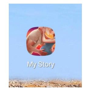 Компьютерная программа My story: Интерактивные истории фото
