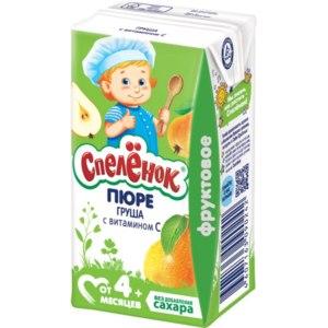 Пюре Спеленок Груша с витамином C фото