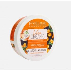 Крем-масло для лица и тела Eveline Viva organic на органическом масле облепихи и bio экстракте мумиё фото