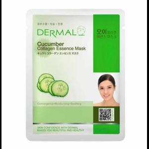 Маска для лица Dermal Cucumber фото