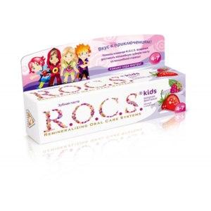 """Зубная паста R.O.C.S. """"Ягодная фантазия """" для детей фото"""