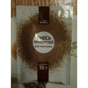 Смесь сухая ВкусВилл / Избёнка пряностей для чая и кофе фото