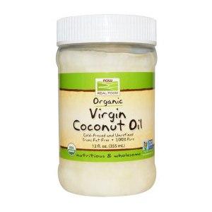Масло Now Foods Certified Organic Virgin Coconut Oil / Органическое Нерафинированное  Кокосовое Масло фото