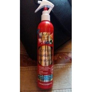 Кондиционер-спрей для волос Золотой шелк Термозащита фото
