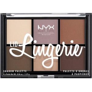Палетка теней NYX Lid lingerie shadow palette фото