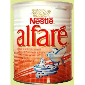 Детская молочная смесь Nestle Алфаре фото