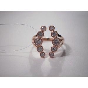 Ювелирные изделия Sokolov jewelry Серебряное кольцо с покрытием золото Арт. 93010419 фото
