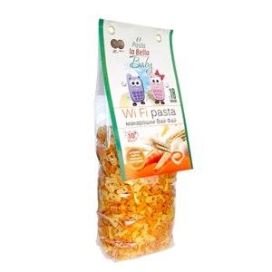 Макаронные изделия из твердых сортов пшеницы Pasta La Bela Baby WiFi - Макарошки Вай Фай для детей с 18 месяцев фото