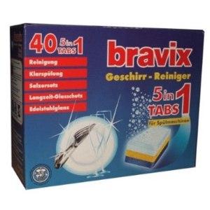 Таблетки для посудомоечной машины Bravix  фото