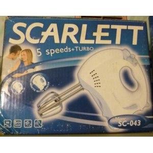 Миксер SCARLETT SC-043 фото