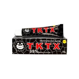 Крем-анестетик TKTX 39% Black Fast Numb Cream фото