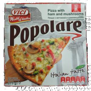 """Пицца Vici """"Popolare"""" с ветчиной и шампиньонами фото"""