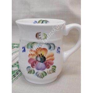 Кружка керамическая Семикаракорская керамика Мальва фото