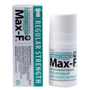 Дезодорант-антиперспирант Max-F Regular Strength 15% фото