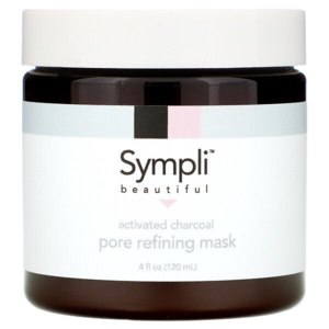 Маска для лица Sympli Beautiful Activated Charcoal Pore Refining Mask фото