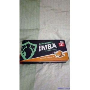 Энергетический напиток  IMBA Game Energy фото
