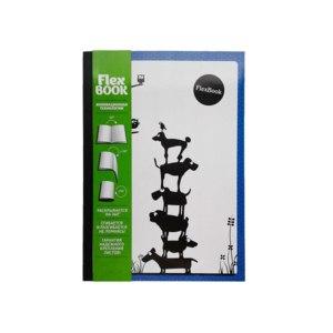 Expert Complete Тетрадь Flex Book Animals 80 листов в клетку фото