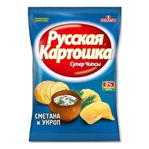 русская картошка чипсы фото