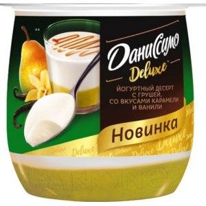 <b>Йогуртный десерт</b> Danone <b>Даниссимо Deluxe</b> с грушей, со ...