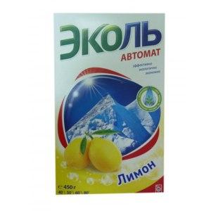 Стиральный порошок ЭКОЛЬ АВТОМАТ  Лимон фото
