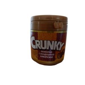 "Шоколад ЛОТТЕ КОНФЕКШНЕРИ КО. ""CRUNKY"" шоколад с воздушной кукурузой фото"