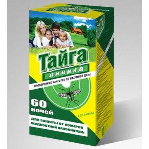 Жидкость от комаров  Тайга ликвид  фото