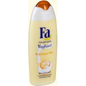 Гель для душа Fa Yoghurt Ванильный мёд фото